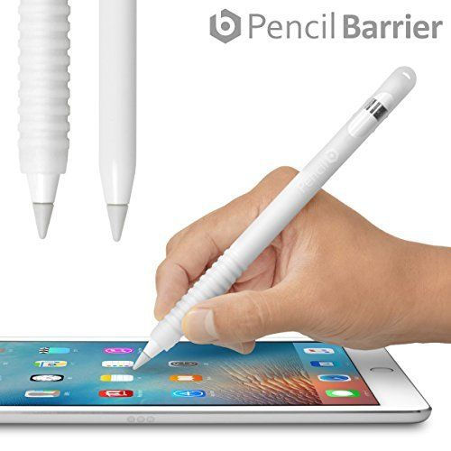 Pencil Barrier™ Apple Pencil を保護しグリップ力をアップする シリコン製カバー・充電時のキャップ紛失を防ぐ収納ヘッド搭載・〜 ペンシルバリア〜(クリアホワイト), http://www.amazon.co.jp/dp/B01LRRNJIY/ref=cm_sw_r_pi_awdl_x_uIO1xbWNW0SGP