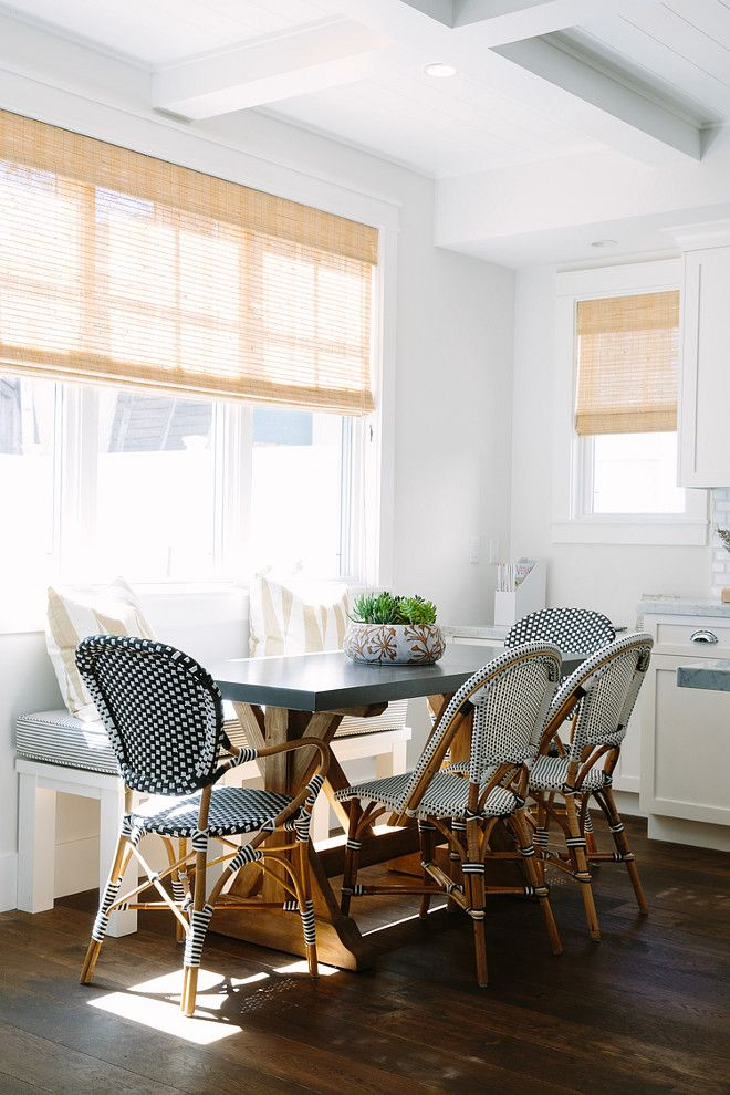 Delicieux Breakfast Nook With Serena And Lily French Bistro Chairs. Riviera Chairs By  Serena U0026 Lily. Rita Chan Interiors.
