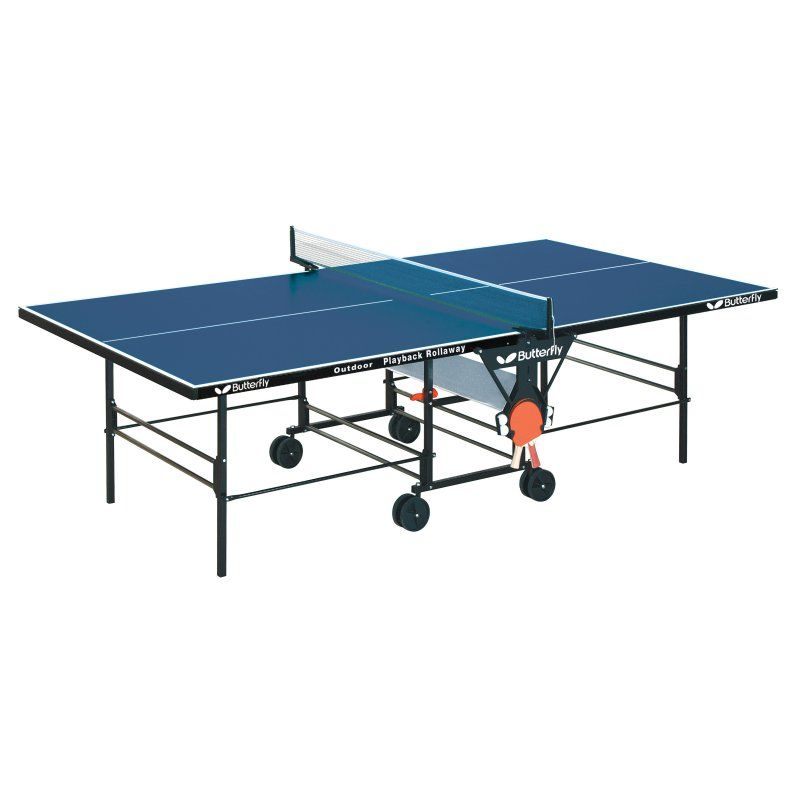 Butterfly Outdoor Blue Playback Table Tennis Table - TW24-B