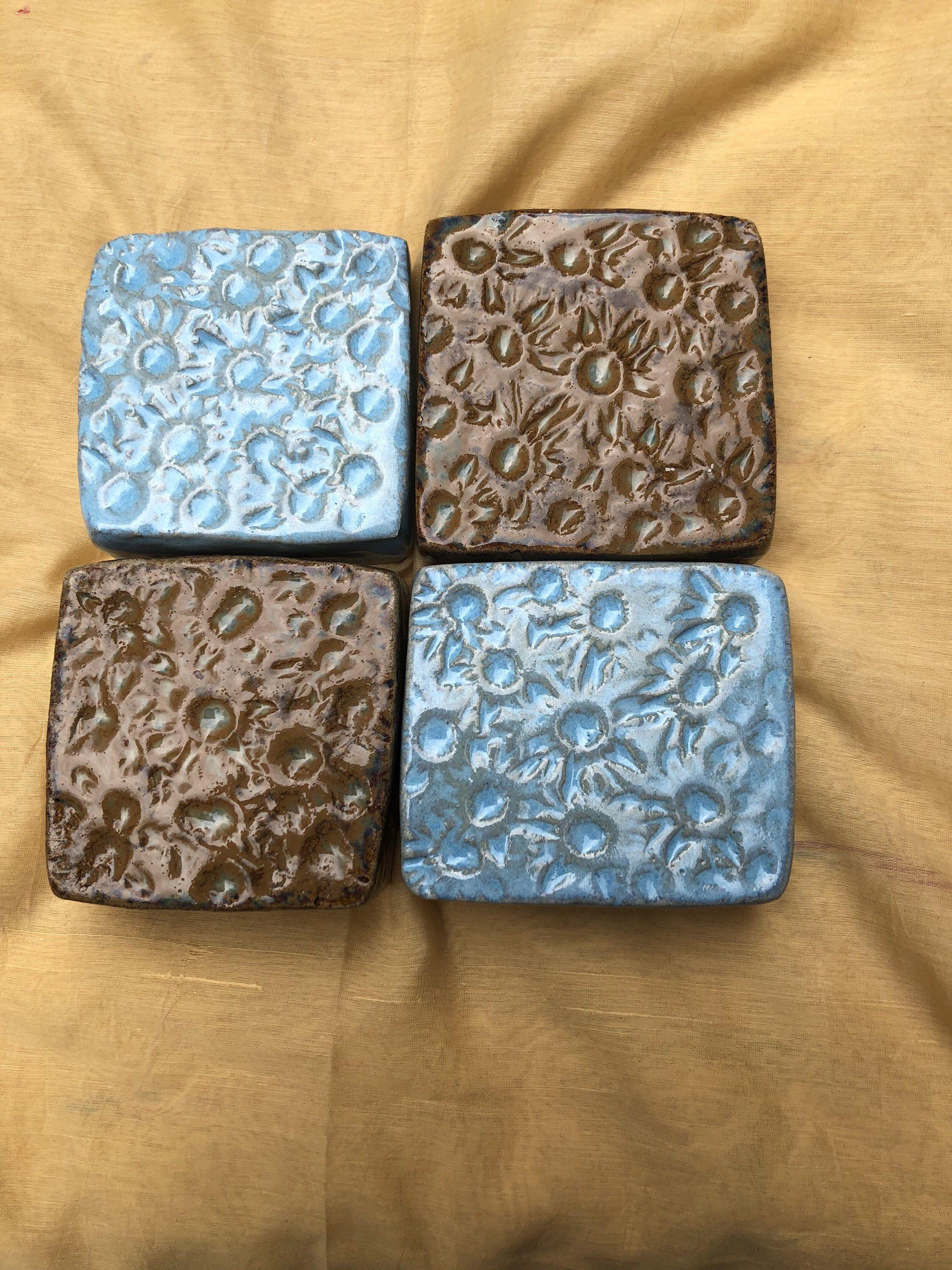 Freue mich, euch diesen Artikel aus meinem Shop bei #etsy vorzustellen: 4 Steine Keramiksteine Pflastersteine frostfest