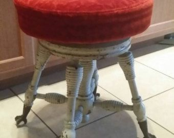Piano Stools And Benches By Diane On Etsy Piano Stool Stool
