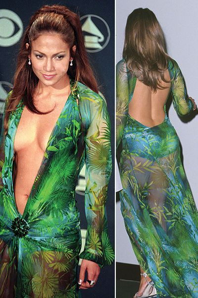 Jennifer Lopez Green Dresses Jennifer Lopez Green D...