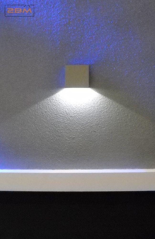 Lampa natynkowa schodowa RENS LED 004/1 to nowoczesna oprawa od Elkim Lighting. Lampy z tej serii świecą szerokim strumieniem światła. Znajdą zastosowanie jako natynkowe lampy schodowe, a