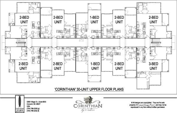 12 Unit Apartment Building Floor Plans Within Apartment Building ...