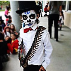 49921743254 day of the dead face painting kid - Google Search | Halloween Boo ...