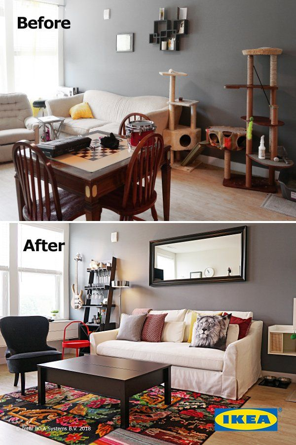 Create a living room that meets all of your needs. Simple ...