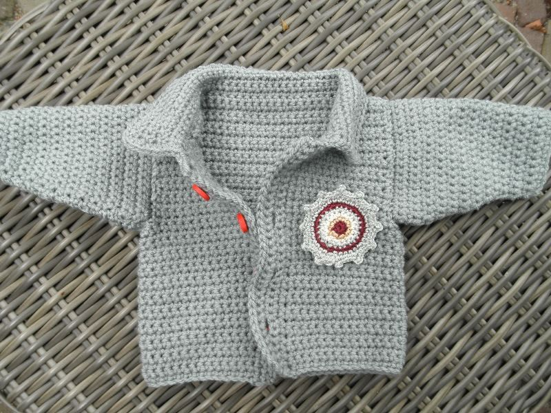 Zy Haakpatroon Babyvestje Met Stoere Applicatie Baby Boy Crochet