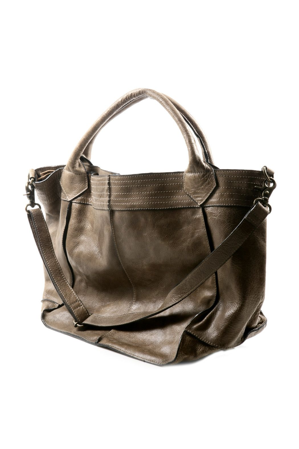 8c6a373716 NU New York Pleated Leather Bag