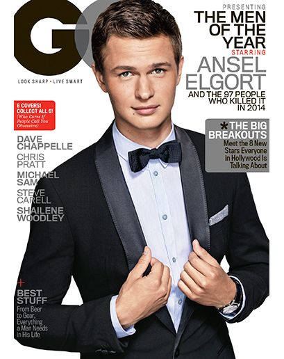 hot sales latest trends shop for original Ansel Elgort wearing an #EmporioArmani tuxedo, shirt and bow ...