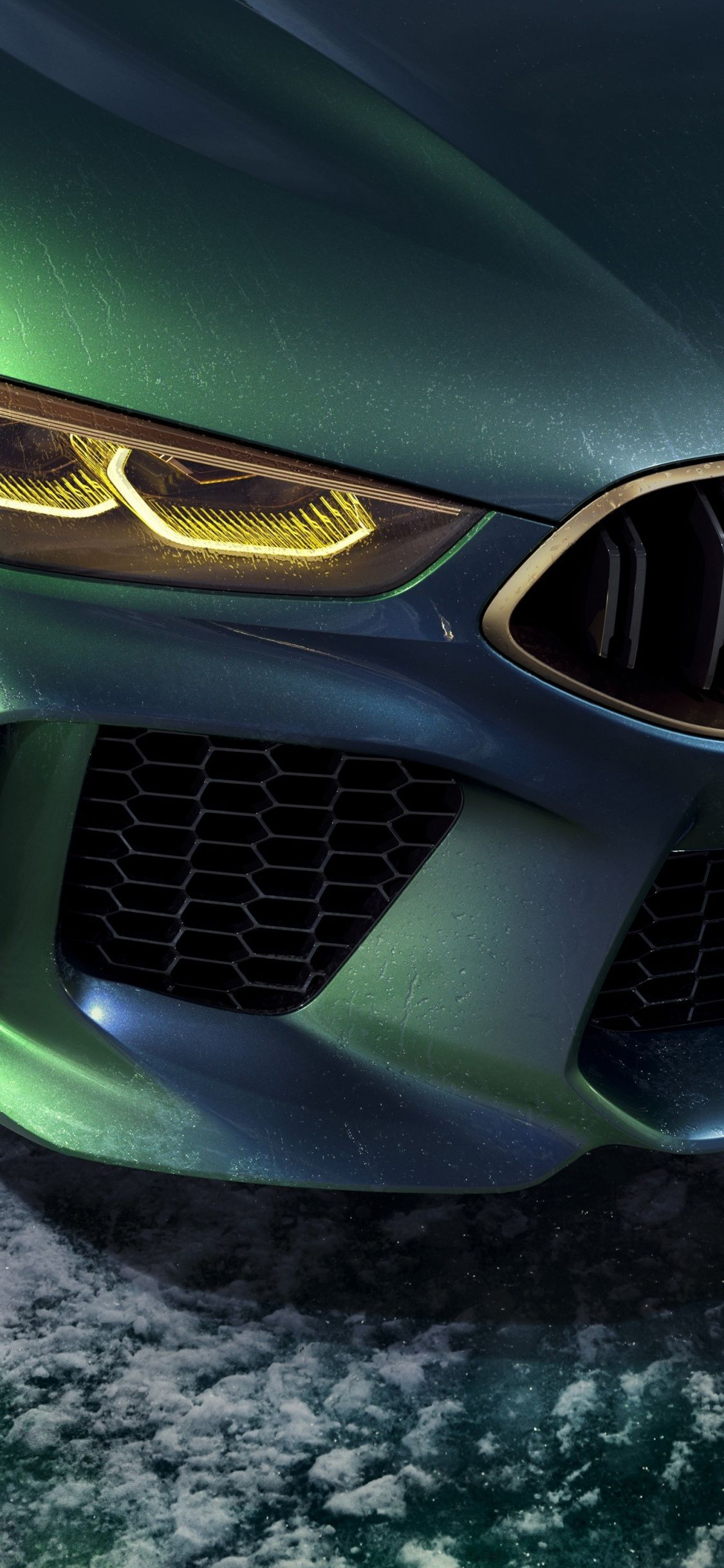 Download 1152x864 Wallpaper Bmw Concept M8 Gran Coupe Headlights