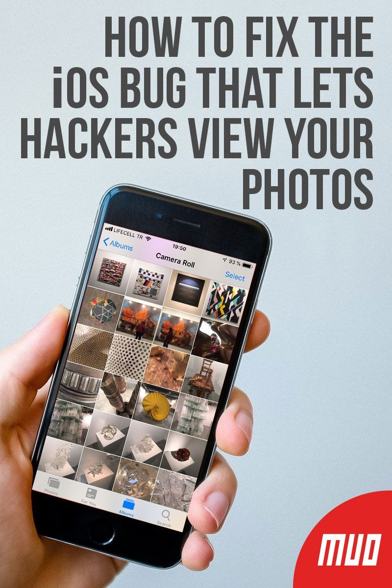 How to fix the ios bug that lets hackers view your photos