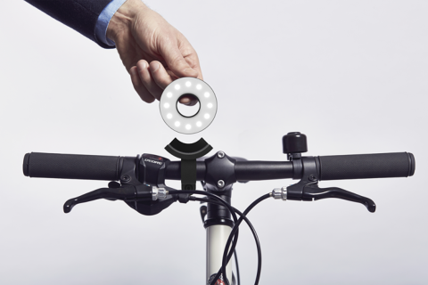 This Might Be The Cleverest Bike Light Ever | Co.Design | business + innovation + design