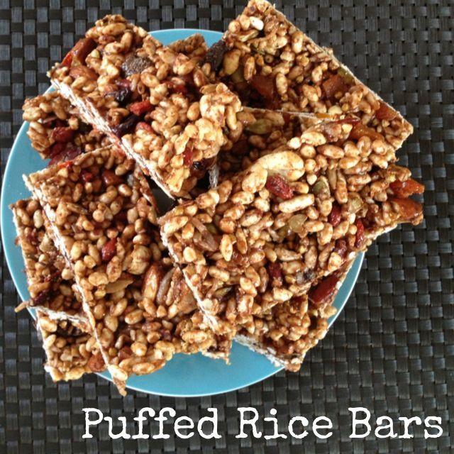 Recipe Puffed Rice Bars Puffed Rice Rice Bar Recipes
