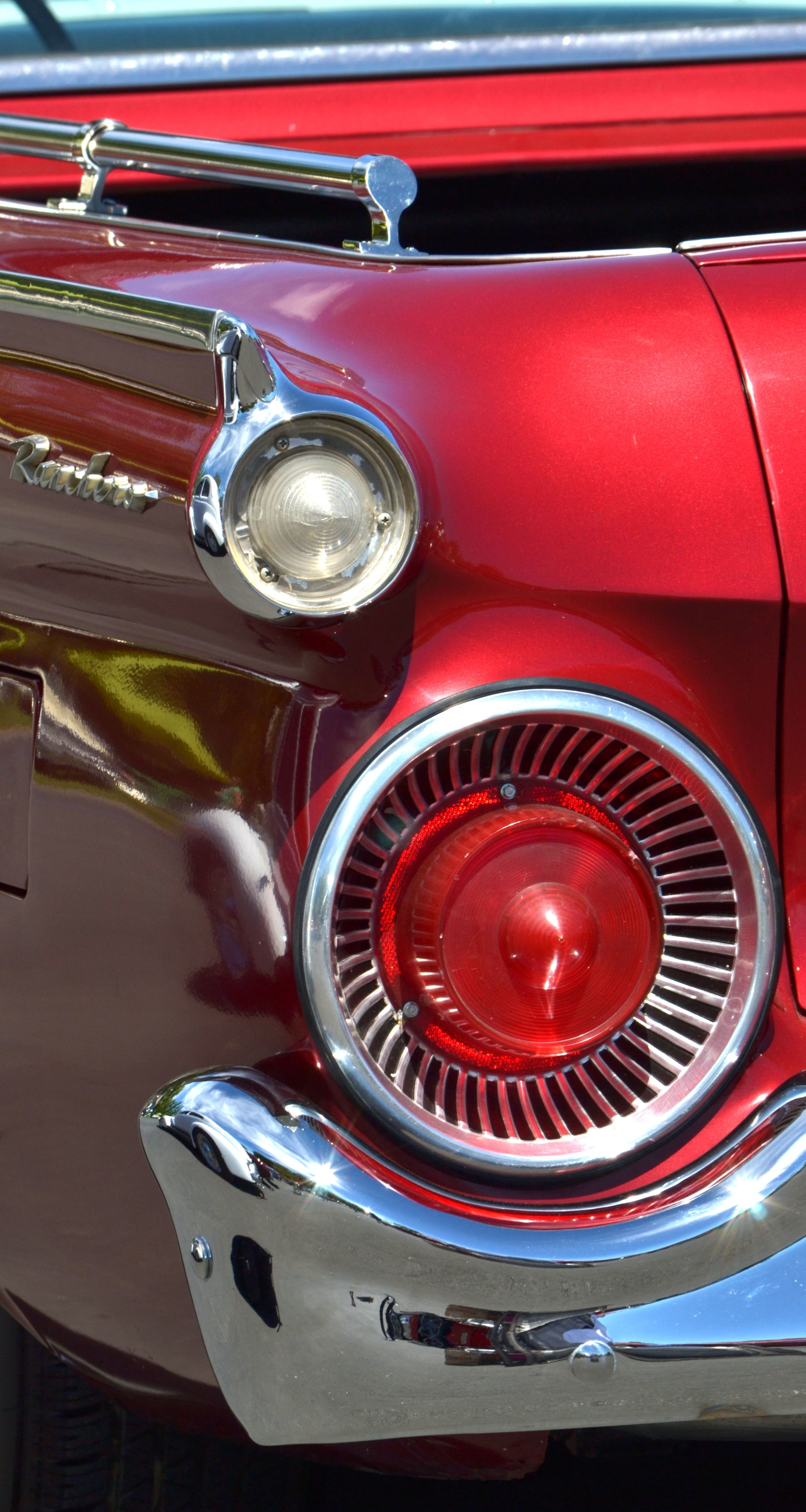 Red Ford Ranchero By Dean Ferreira Fine Art Classic Cars Old Cars Vintage Trucks Retro vintage red car headlight hd