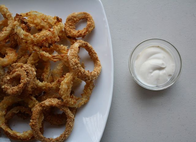 Oven Fried Onion Rings | Jessiker Bakes | The Blog