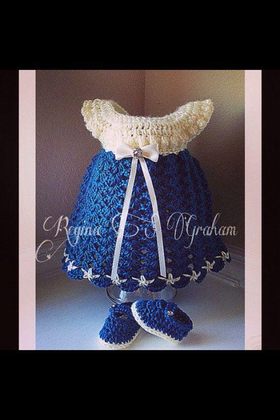 Crochet baby dress pattern, crochet pattern baby, crochet dress ...