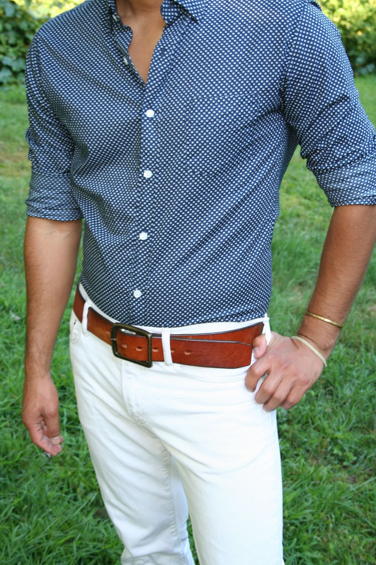 Tailored shirt for the perfect fit menswear summer style