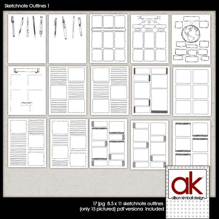 Sketchnote Plan Free Download Simple Inspiration