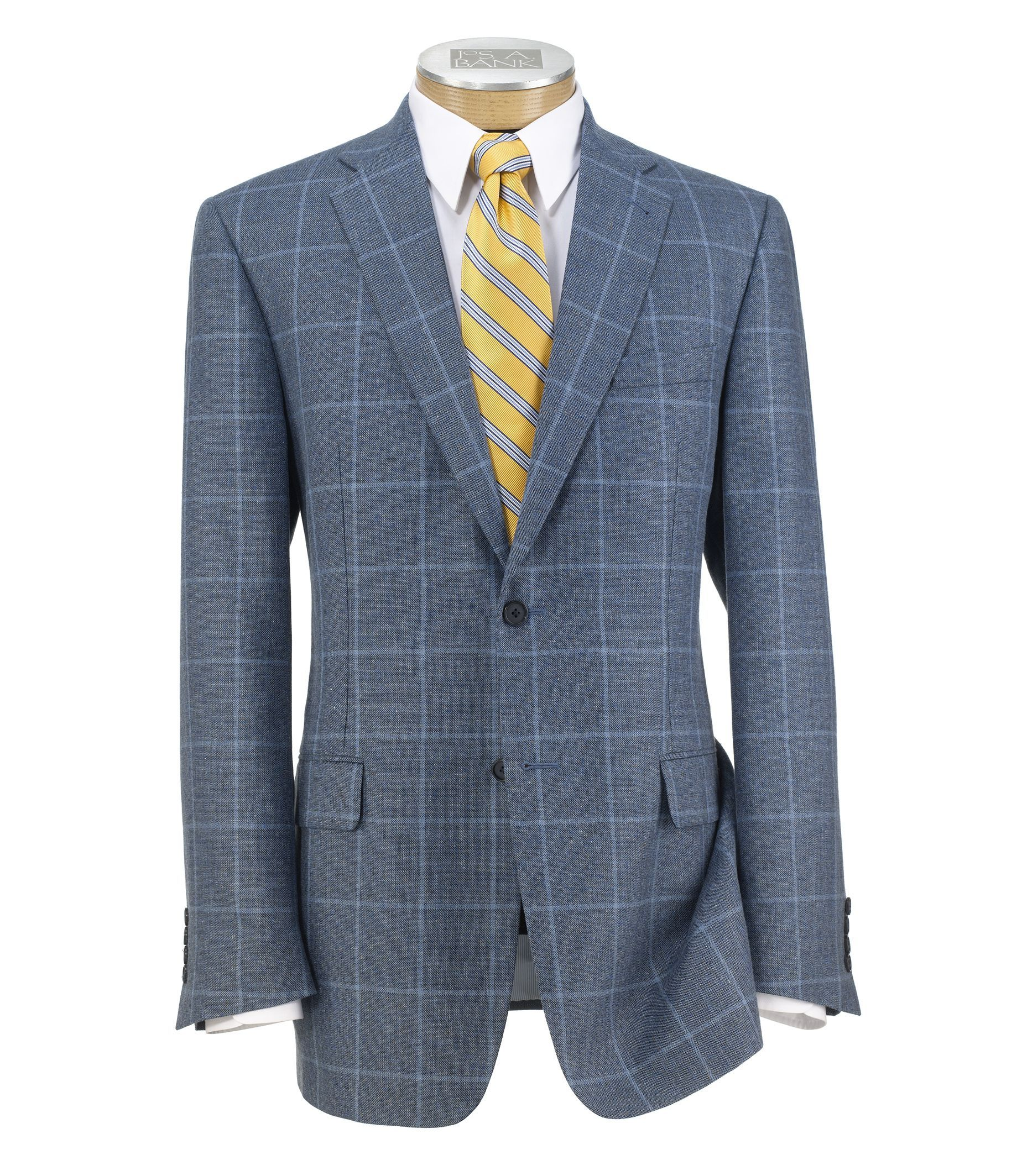 Signature 2-Button Tailored Fit Patterned Sportcoat CLEARANCE ...