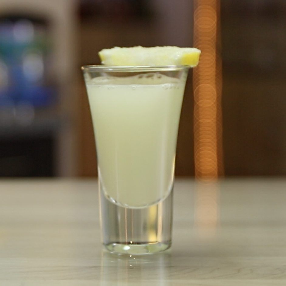 Lemon Drop Shot - Tipsy Bartender