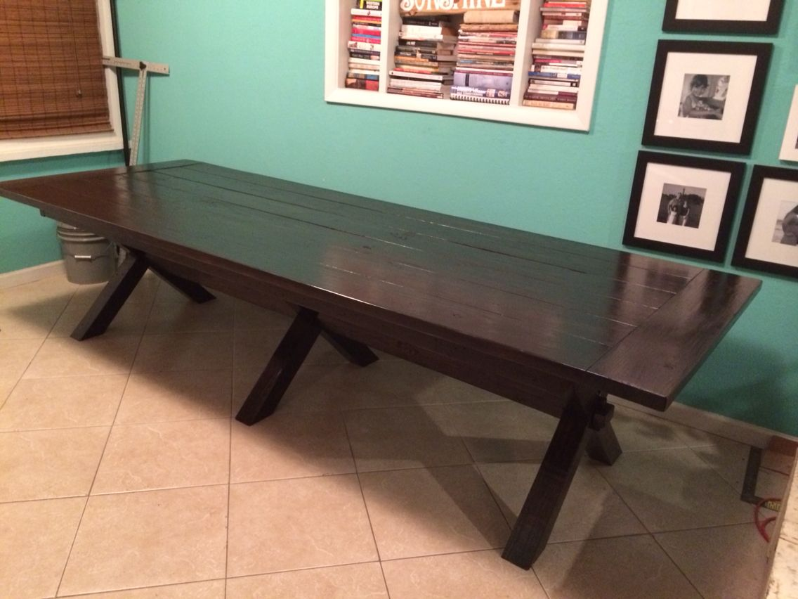 10ft 4x4 Farmhouse table Custom build to be just like the