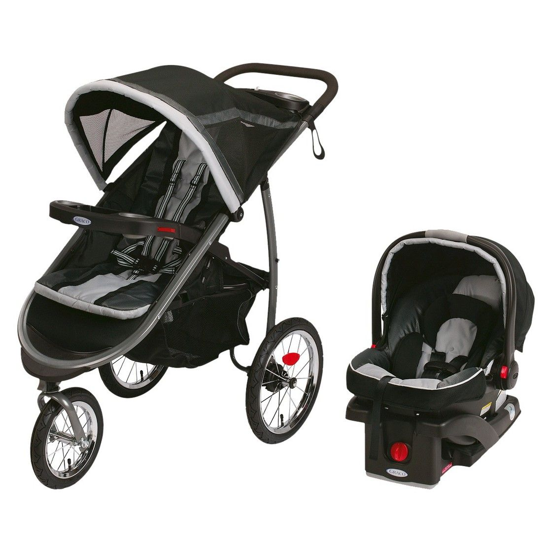 Graco FastAction Jogger Click Connect Travel System