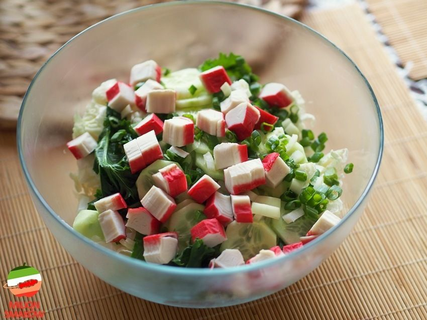 Tajska Salatka Krabowa Recipe Recipes Feta Cheese Tasty