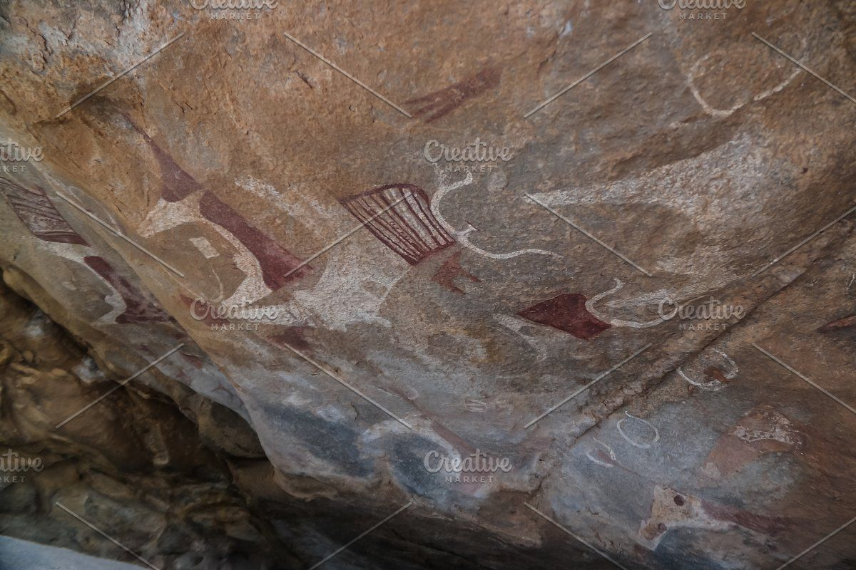 Photo of Cave paintings and petroglyphs Laas Geel near Hargeisa Somalia #Sponsored , #Aff…