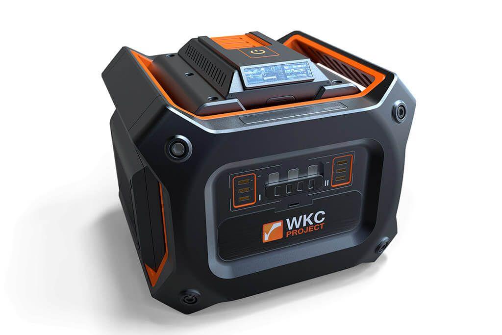 By WKC-Project 2016 Dieses Objekt soll so eine Art Generator darstellen. Erstellt in Fusion360.