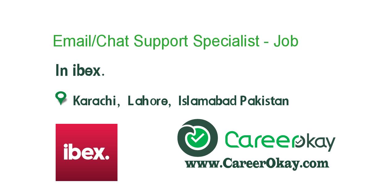 Email Chat Support Specialist International Https Www Careerokay Com Job Job Listings Emailchat Support Specialist Inte In 2020 Executive Jobs Jobs In Pakistan Job