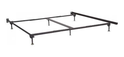 Queen King Bed Frame W Glides In 2020 King Bed Frame King Beds