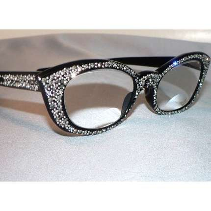 Designer Eyeglass Frames With Rhinestones : Pin by Tiffany Ross on sunglasses & eyeglasses Pinterest ...
