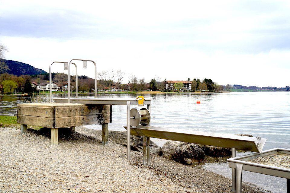Spielplatz In Bad Wiessee Am Tegernsee Liegt Wunderschön
