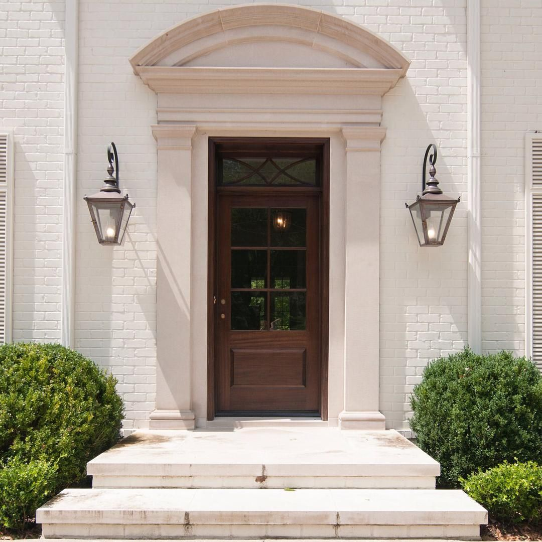 Limestone Front Door Surround Front Door Entryway Front Door Front Door Design