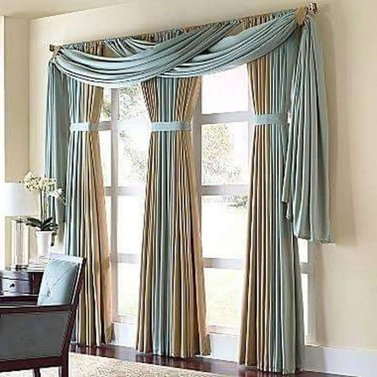 11 Pretty Tall Curtains Design Ideas For Living Room Window