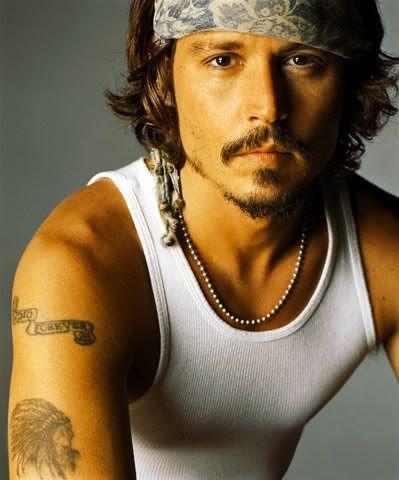 Famous Native American Actors | Johnny Depp ~ Cherokee