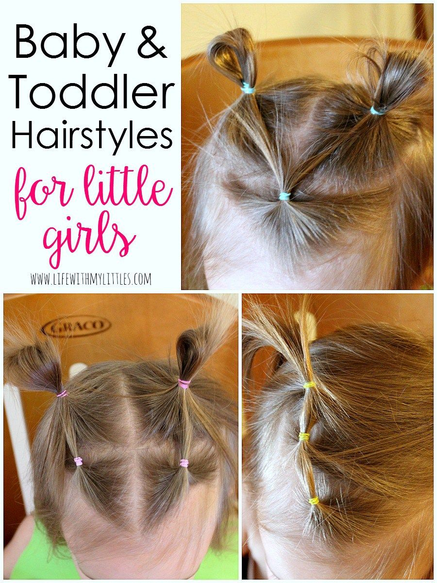 Baby and toddler girl hairstyles toddlers pinterest girl