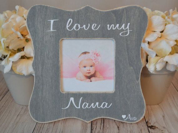 nana picture frame custom picture frame grandma frame mothers day gift personalized picture frame nanas blessings picture frame - Nana Picture Frame