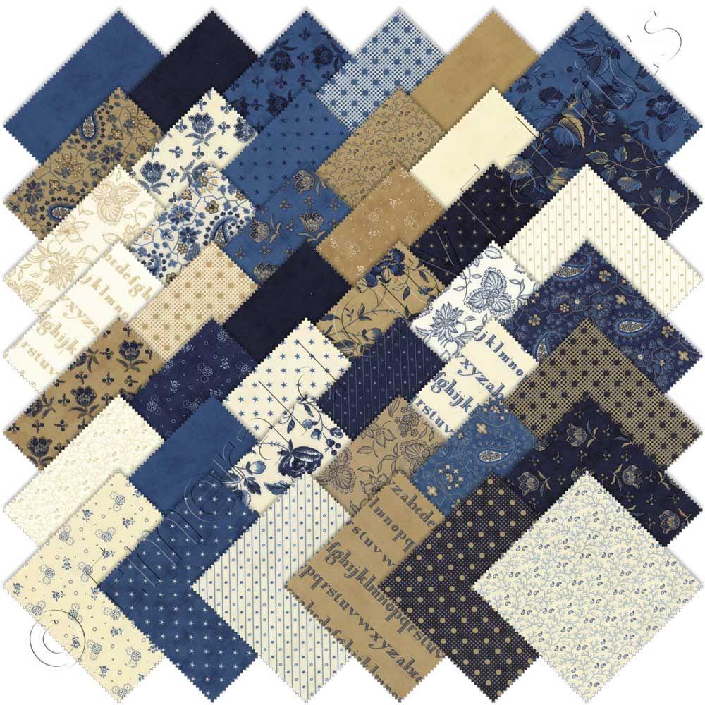 Moda Lexington Charm Pack, Set of 42 5-inch (12.7cm) Precut Cotton ... : moda quilting fabric - Adamdwight.com