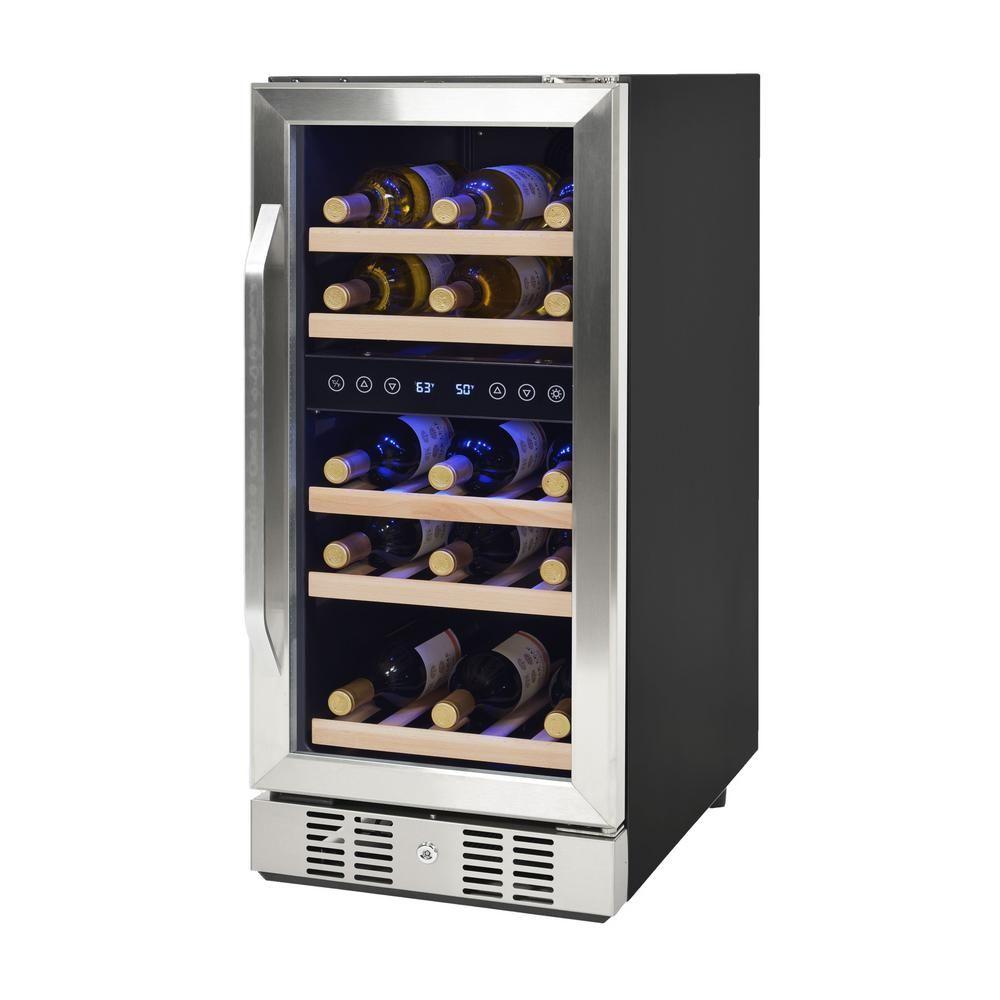 Newair 29 Bottle Built In Wine Cooler