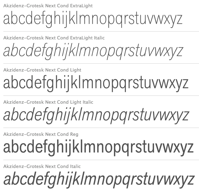 Akzidenz Grotesk Light Italic Free Download - worldsoftmore