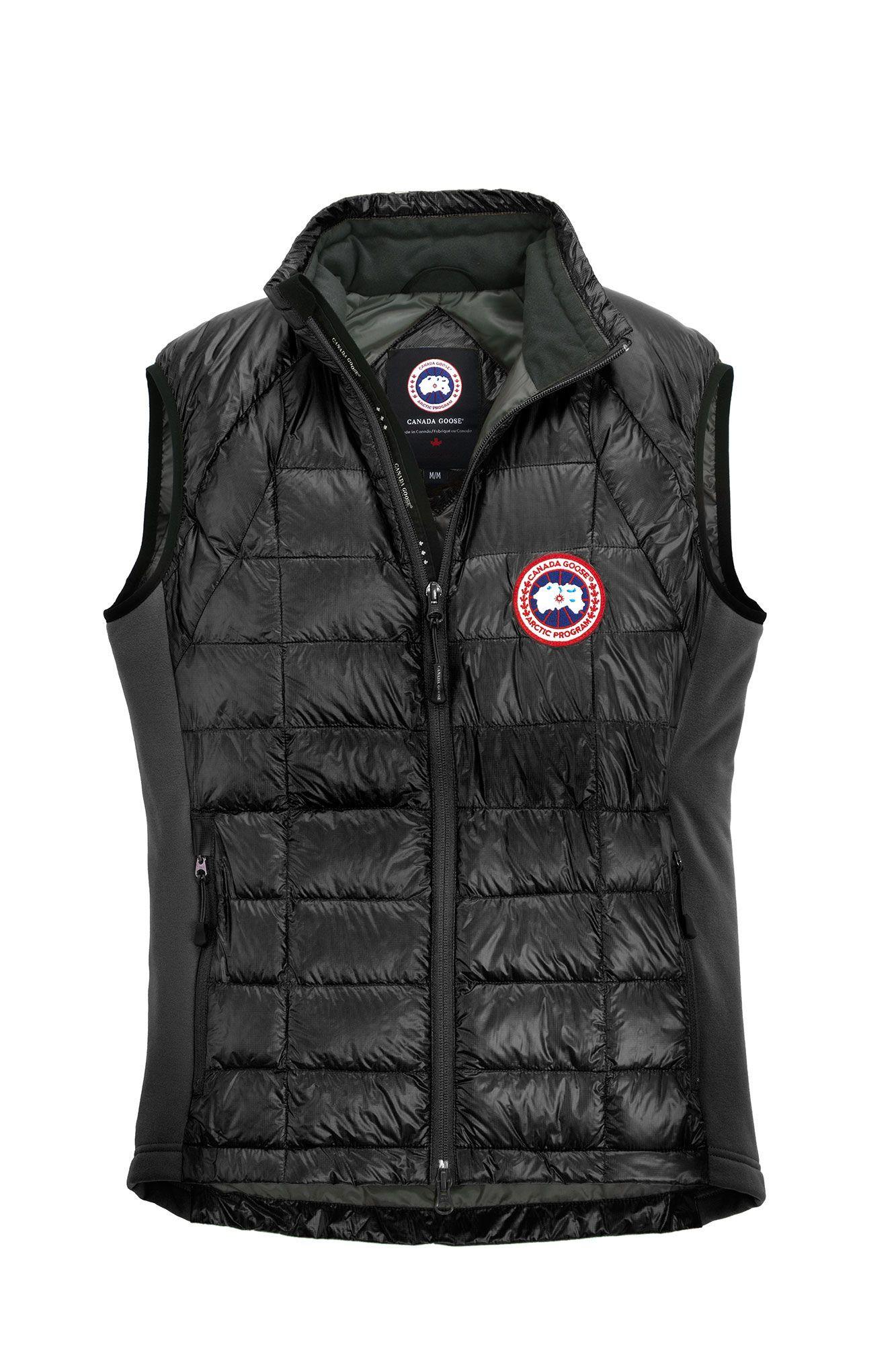 mens hybridge hybridge lite vest canada goose put this on rh pinterest com