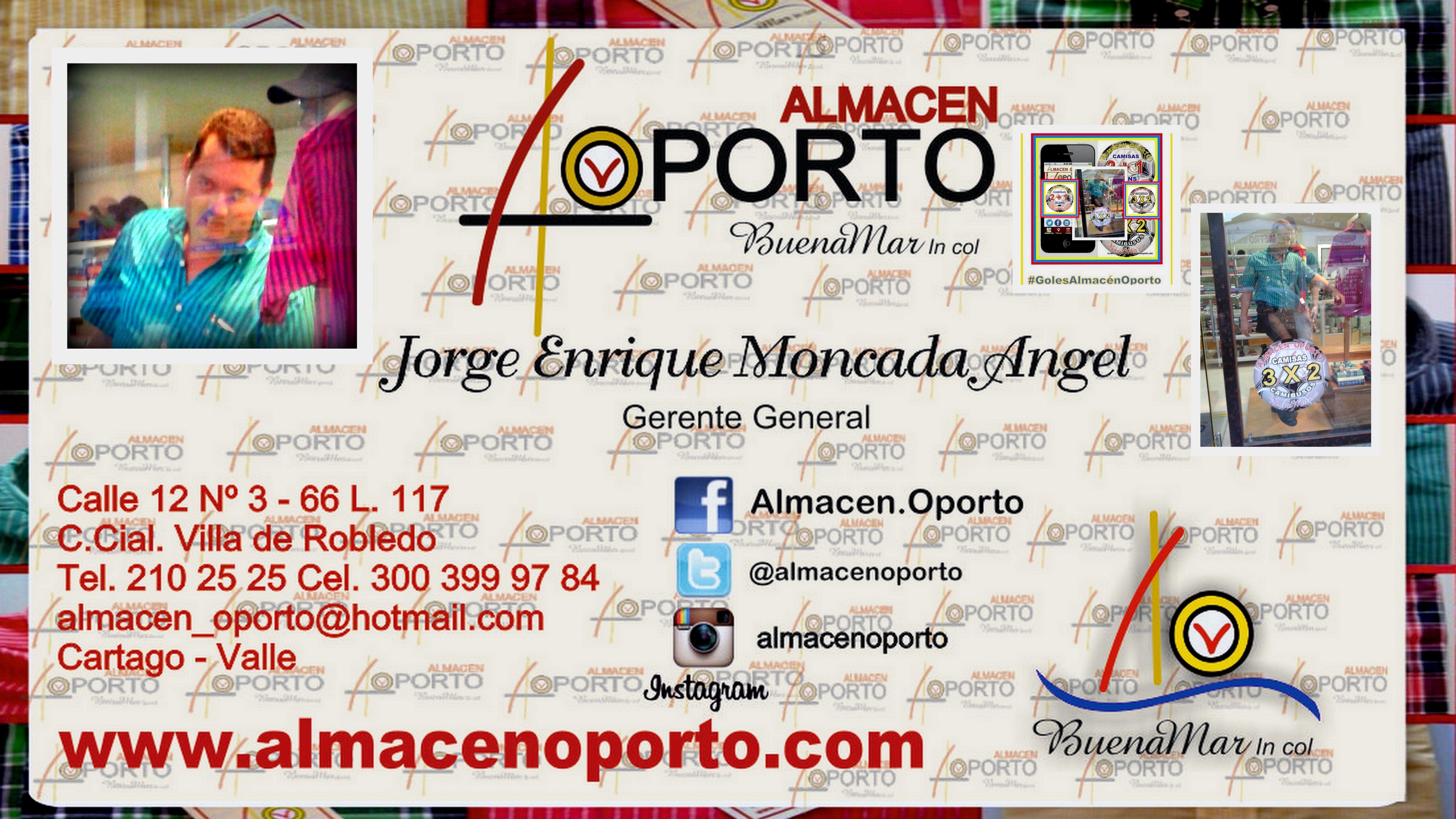 Almacén Oporto en Cartago, Valle del Cauca www.almacenoporto.com.co