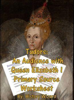Tudors: Eine Audienz bei Queen Elizabeth I, Arbeitsblatt zur Primärquelle