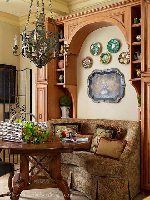 Prides Crossing Beverly, MA French country style, Dining area and