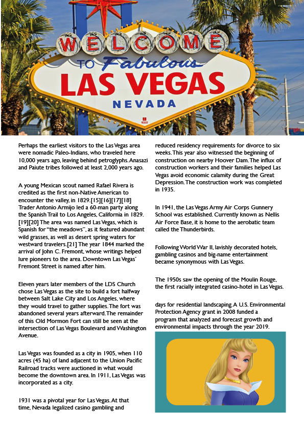 Come to the world of Las Vegas and InDesign CS6 in Norwich