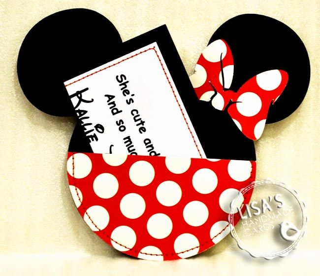 Custom Handmade Mickey Minnie Mouse Birthday Invitations All