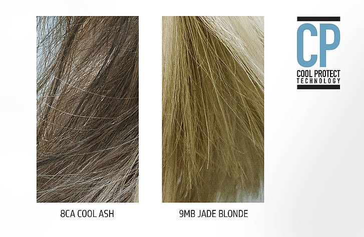Goldwell Cool Blonde Collection hair shtuff Ash brown hair