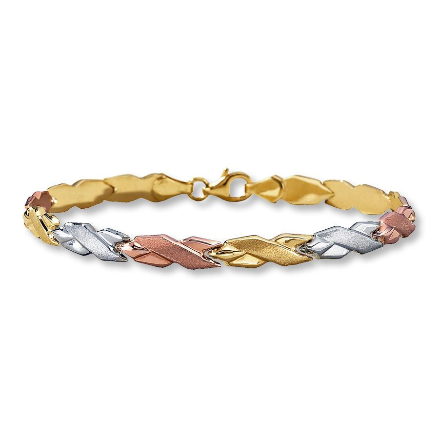 jewelers kay bracelet pin strawberry diamond chocolate vian tw ct le gold