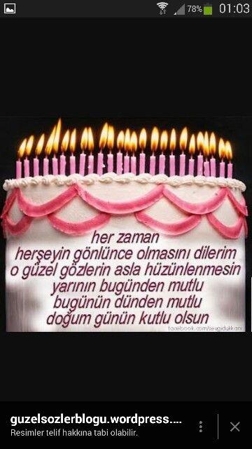 Zeynep Ozer Adli Kullanicinin Dogum Gunun Kutlama Mesajlari Panosundaki Pin Dogum Gunu Dogum Gunu Mesajlari Doga